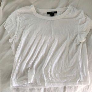 White forever 21 t shirt